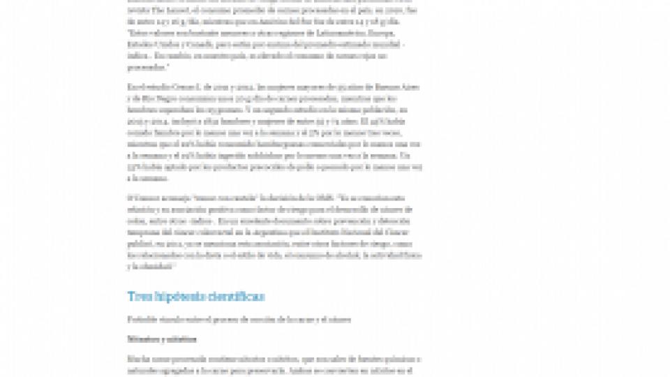 Carnes procesadas 30.10.2015 – LA NACION