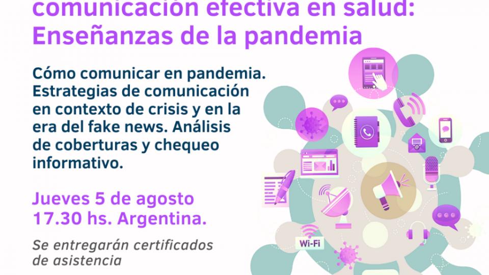 Comunicación en pandemia – Pieza cuadrada