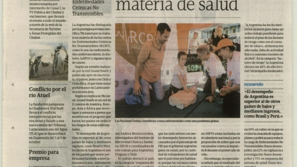 Tiempo Argentino 19 09 2015 Grand South