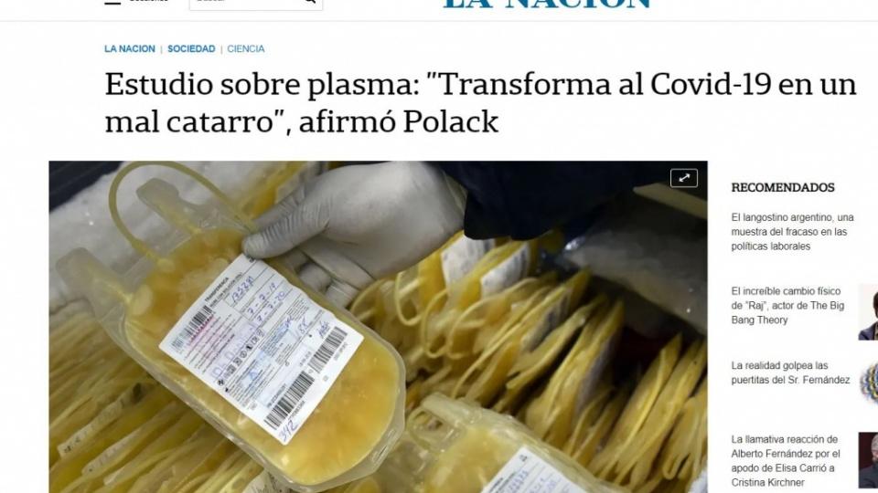 plasma polack LN